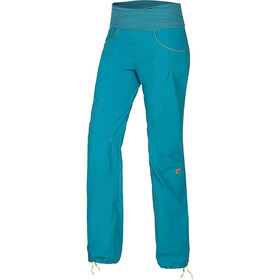 Ocun Noya broek Dames, blue/yellow